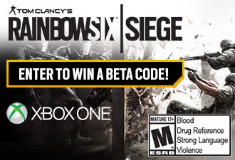 Rainbow Six Siege Beta Code Sweepstakes