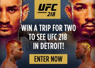 UFC 218 Contest